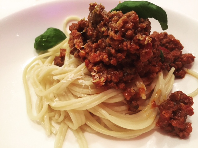 About Food And Fashion Echte Spaghettig Bolognese