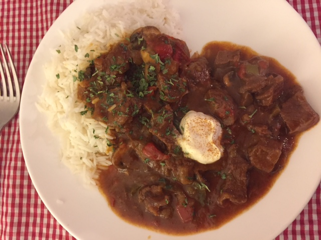 About Food And Fashion Easy Goulash